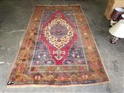 Sale 8971 - Lot 1065 - Green and Red Tone Floor Rug (290 x 170cm)