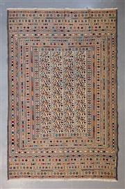 Sale 8493C - Lot 95 - Super Fine Persian Somak 296cm x 200cm