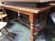 Sale 8562 - Lot 1092 - Timber Dining Table