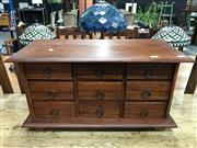 Sale 8787 - Lot 1045 - Bench Top Chest of 9 Drawers