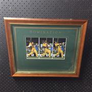 Sale 8828 - Lot 2050 - Domination Mark Waugh, framed
