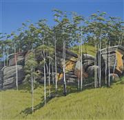 Sale 8881 - Lot 572 - David Rose (1936 - 2006) - Hillside at Yarramalong 54 x 55 cm