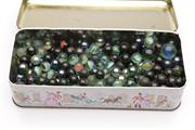 Sale 9052 - Lot 368 - Container of Vintage Marbles