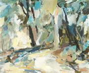 Sale 9067 - Lot 580 - Ingrid Haydon (1945 - ) - Forest Scene 44 x 54.5 cm (frame: 60 x 70 x 7 cm)