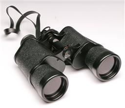 Sale 9104 - Lot 70 - A Pair of Garton Binoculars in Leather Case