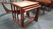 Sale 8409 - Lot 1020 - G-Plan Teak Nest of Tables
