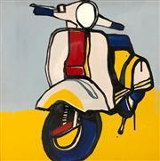 Sale 8657E - Lot 5024 - Jasper Knight (1978 - ) - Piaggo 150 Study 60 x 60cm