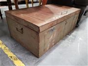 Sale 8688 - Lot 1098 - Tin Travelling Trunk