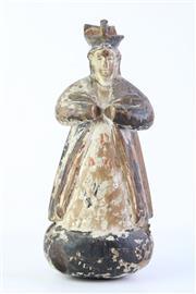 Sale 8806 - Lot 23 - Filipino Santo Figure of a Bishop ( H 29cm)