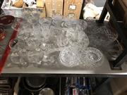 Sale 8819 - Lot 2494 - Collection of Crystalware