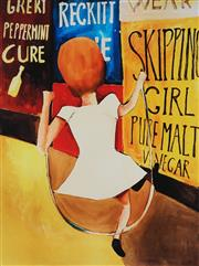 Sale 8929 - Lot 536 - Charles Blackman (1928 - 2018) - Skipping Girl 88.5 x 67 cm