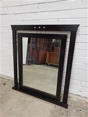 Sale 9059 - Lot 1029 - Modern Mantle Mirror (102 x 94cm)