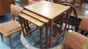 Sale 8383 - Lot 1031 - G-Plan Teak Nest of Three Tables
