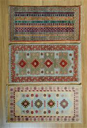 Sale 8693C - Lot 85 - 3 x Afghan Chobi 60cm x 90cm