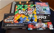 Sale 8741A - Lot 94 - A quantity of games including Travel Trivia Challenge, Chopley, Blokus ect ( in cabinet & Drawer) together with a quantity of books