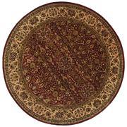 Sale 8810C - Lot 13 - An Indian Fine Classic Agra Design in Handspun Wool, 300cm In Diameter