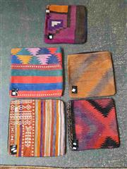 Sale 8934 - Lot 1043 - Persian Cushion Covers x 5 (40cm2)