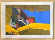 Sale 8932 - Lot 2021 - Ilana Richardson - Villefrancke1984 screenprint, ed. 131/225, 68 x 93cm (frame) signed and dated lower right