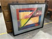 Sale 9058 - Lot 2088 - Artist Unknown - Abstract 72 x 91.5 cm