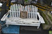 Sale 8383 - Lot 1380 - Sunrise 2 Seater Outdoor Bench