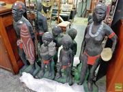 Sale 8424 - Lot 1005 - Aboriginal Concrete Family