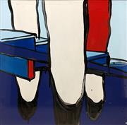 Sale 8657E - Lot 5002 - Jasper Knight (1978 - ) - The Three Tenors 60 x 60cm