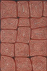 Sale 8901 - Lot 598 - Thomas Japaltjarri (c1964 - ) - Untitled 61 x 92 cm (stretched and ready to hang)