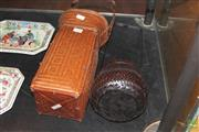 Sale 8285 - Lot 63 - Fine Ikebana Basket