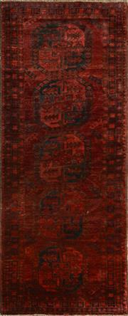 Sale 8402C - Lot 22 - Afghan Antique Qunduzi 245cm x 100cm