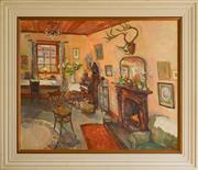 Sale 8960J - Lot 5 - Criss Canning - Interior oil on canvas