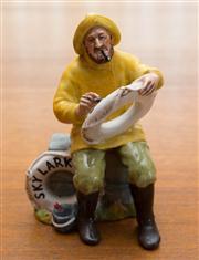 Sale 8313A - Lot 6 - Royal Doulton, The Boatman, HN 2417, 1970, height 17cm