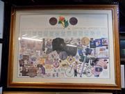 Sale 8417T - Lot 2099 - Certificate Melbourne Olympics Memorabilia