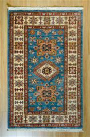 Sale 8693C - Lot 87 - Afghan Super Kazak 126cm x 77cm