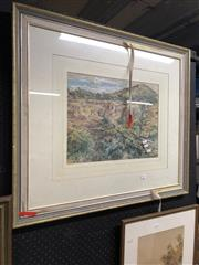 Sale 8856 - Lot 2091 - C.R. Steward - Washout, Watercolour SLL