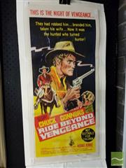 Sale 8491 - Lot 2069 - Day Bill - Ride Beyond Vengeance, poster (unframed), 76.5 x 34cm