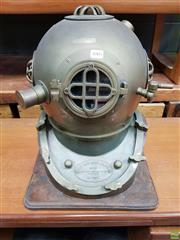 Sale 8625 - Lot 1005 - Brass Divers Helmet