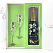 Sale 8660 - Lot 789 - 1x 2006 Perrier-Jouet Belle Epoque Brut, Champagne - in gilt box with 2 glasses