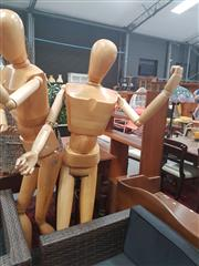 Sale 8676 - Lot 1359 - Articulated Artists Mannequin