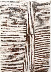 Sale 8696A - Lot 5028 - Kitty Kantilla (c1928 - 2003) - Untitled 49.5 x 32.5cm