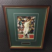 Sale 8828 - Lot 2046 - Glenn McGrath - At Full Pace, framed