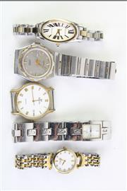 Sale 8802 - Lot 341 - A collection of watches including Seiko, Guess & Bulova