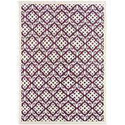 Sale 8810C - Lot 17 - An Indian Taj Silk Lattice Design in Handspun Wool & Bamboo Silk, 178 x 250cm
