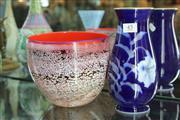 Sale 8322 - Lot 45 - Art Glass Vase with a Japanese Vase