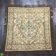 Sale 8645D - Lot 83 - Silk Infused Tapestry With Floral Motif