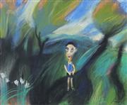Sale 8773 - Lot 514 - Geoffrey Proud (1946 - ) - Malcolm 59.5 x 73cm