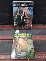 Sale 8822B - Lot 716 - 2 Volumes: R. Edwards Aboriginal Art in Australia 1978 Ure Smith with Australia: The Island Continent in Colour Australian Univer..