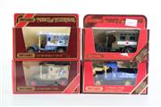 Sale 8960T - Lot 26 - A Set Of Four Matchbox Models of Yesteryear Toy Cars Incl Red Cross