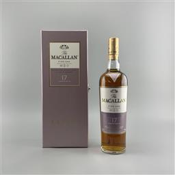 Sale 9165 - Lot 607 - The Macallan Distillers Fine Oak 17YO Highalnd Single Malt Scotch Whisky - 43% ABV, 700ml in presentation box with slip cover