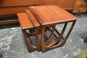 Sale 8338 - Lot 1090 - G-Plan Teak Nest of Three Tables
