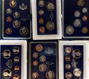 Sale 8465J - Lot 318 - 13 PROOF COIN SETS; 1975, 76, 78, 79. 2 X 80, 81-87.
